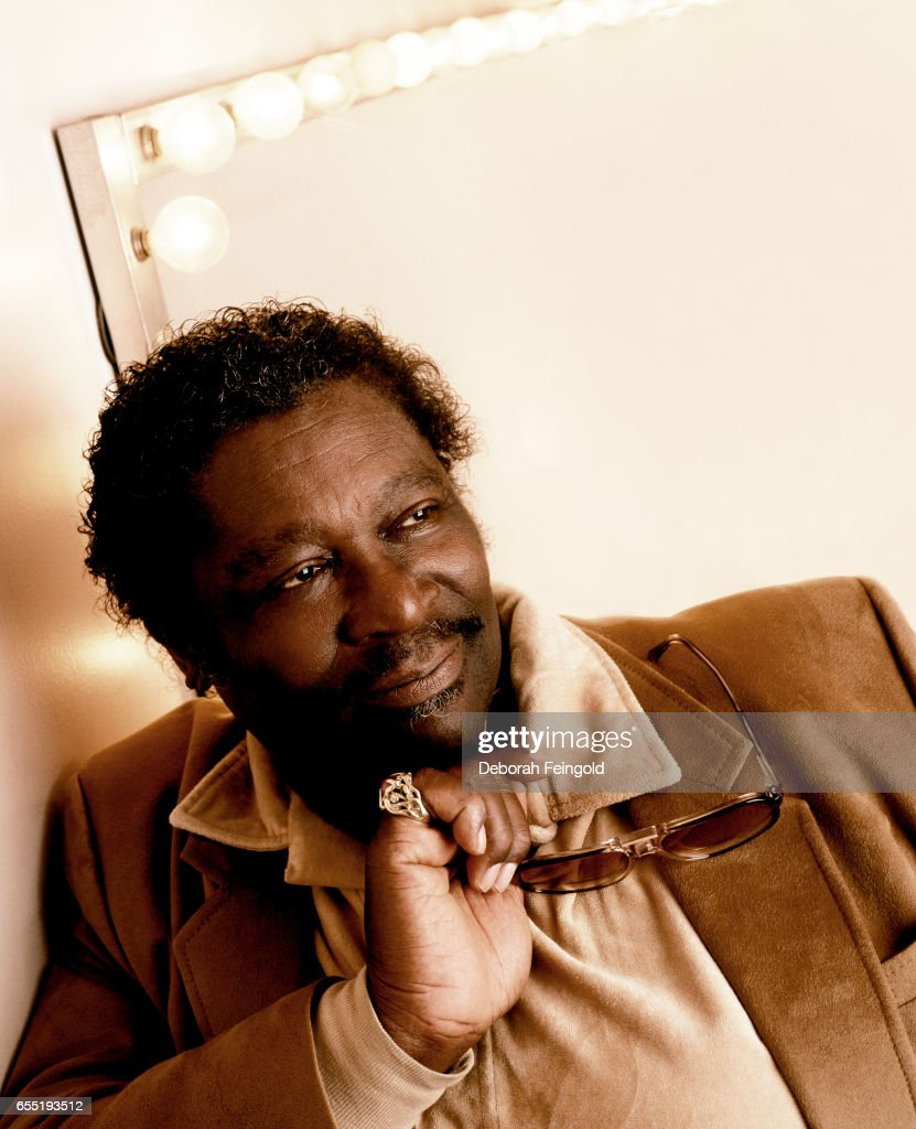 Singer and guitarist BB King poses in January 1986 in New York City, New York.