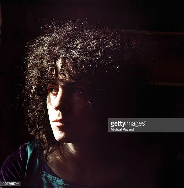 Singer and guitarist Marc Bolan of TRex on 23rd March 1971