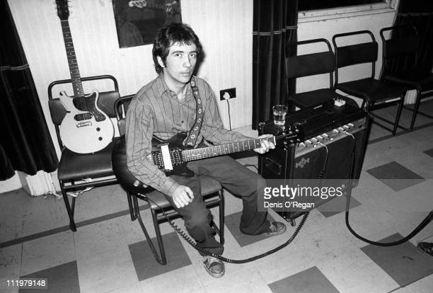Singer and guitarist Pete Shelley of The Buzzcocks in Belfast 1978