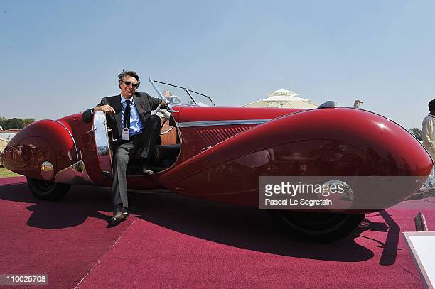 Singer and jury member Brian Ferry attends the Cartier 'Travel With Style' Concours on March 12 2011 in New Delhi India