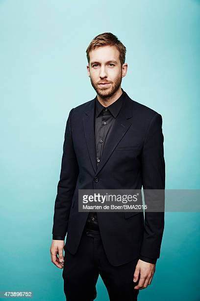 Singer and music producer Calvin Harris poses for a portrait at the 2015 Billboard Music Awards on May 17 2015 in Las Vegas Nevada