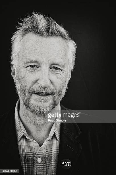 Singer and musician Billy Bragg is photographed on August 9 2014 in Edinburgh Scotland