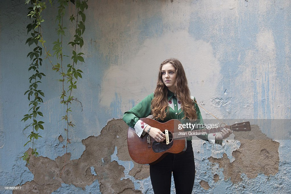 Singer and musician <a gi-track='captionPersonalityLinkClicked' href=/galleries/search?phrase=Birdy+-+Musician&family=editorial&specificpeople=12423197 ng-click='$event.stopPropagation()'>Birdy</a> is photographed for the Independent on August 18, 2013 in London, England.