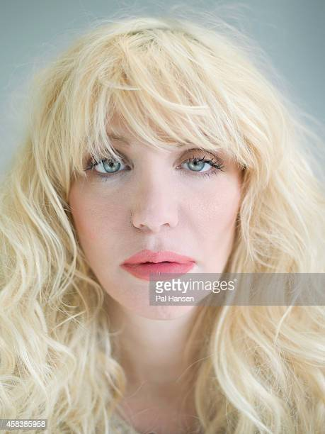 Singer and musician Courtney Love is photographed for the Sunday Times magazine on May 20 2014 in London England