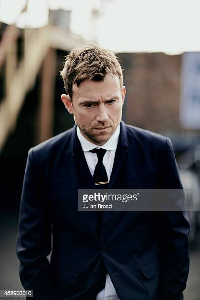 Singer and musician Damon Albarn is photographed for BA High Life magazine on April 1 2014 in London England