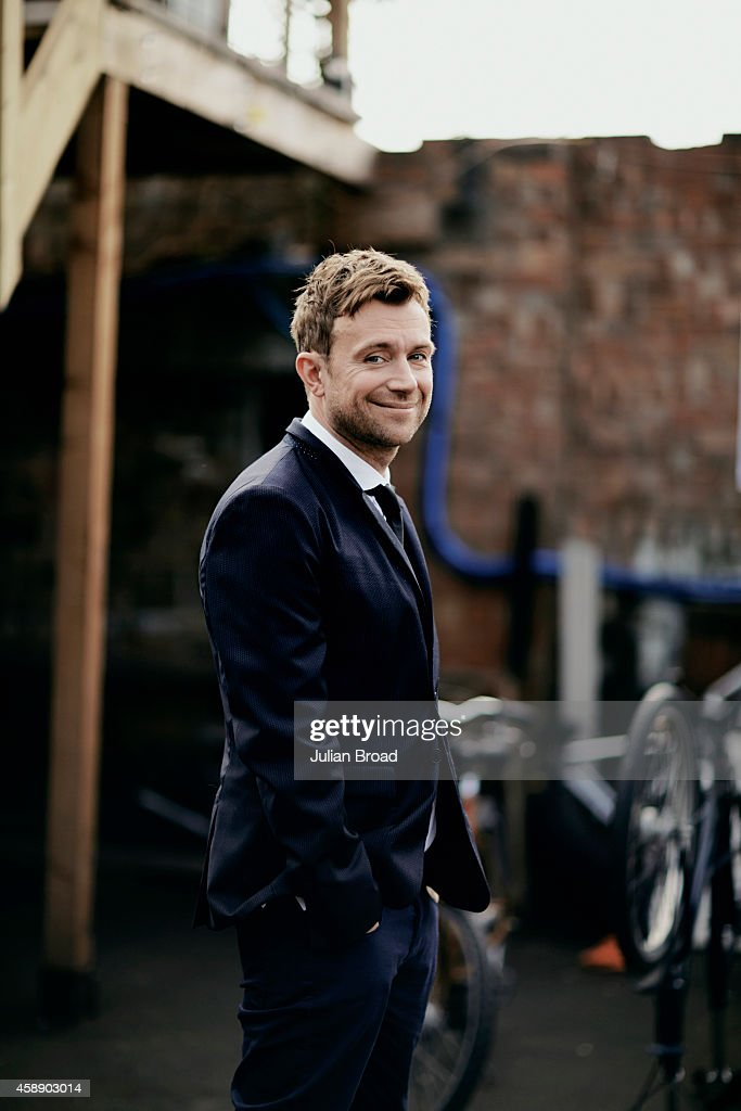Singer and musician Damon Albarn is photographed for BA High Life magazine on April 1, 2014 in London, England.