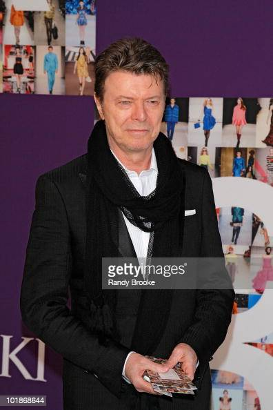 Singer and Musician David Bowie attends the 2010 CFDA Fashion Awards at Alice Tully Hall Lincoln Center on June 7 2010 in New York City