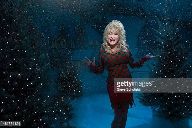 Singer and musician Dolly Parton is photographed for the Guardian on September 29 2014 in Nashville Tennessee