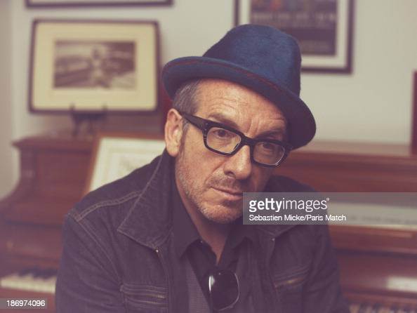 Singer and musician Elvis Costello is photographed for Paris Match on September 18 2013 in New York City