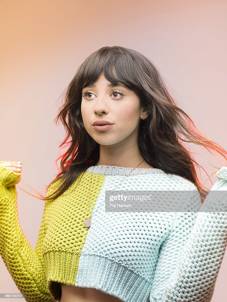 Singer and musician Foxes aka Louisa Rose Allen is photographed for ...