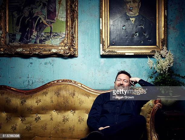 Singer and musician Guy Garvey is photographed for Red magazine on September 14 2015 in London England
