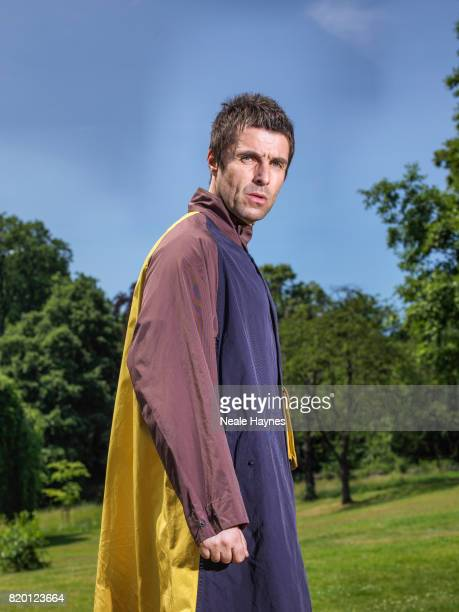 Singer and musician Liam Gallagher is photographed for the Times on June 24 2017 in London England