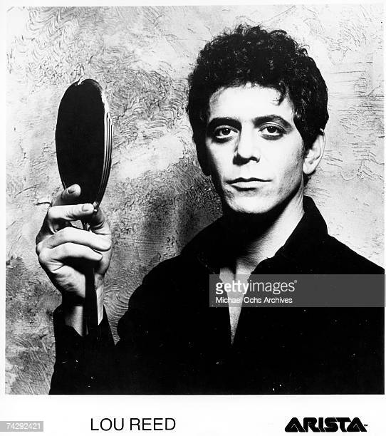Singer and musician Lou Reed Used on the cover of the album 'The Bells'