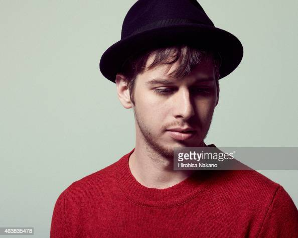 Singer and musician Mark Foster of indie band Foster the People is photographed on January 18 2012 in Tokyo Japan