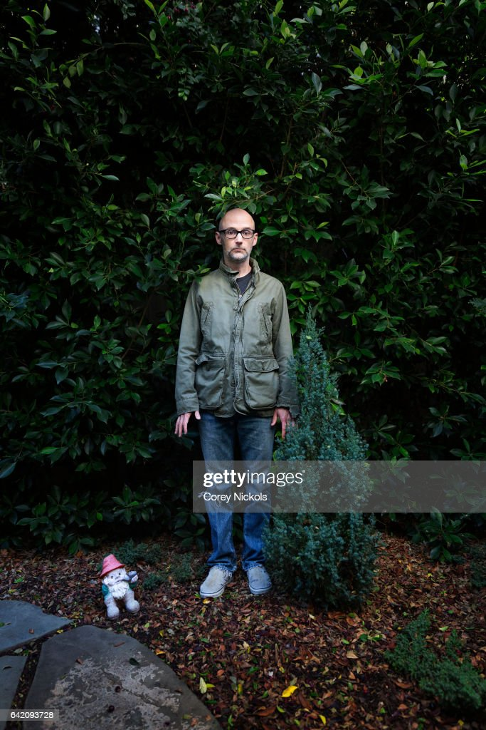 Singer and musician Moby for New York Observer on October 26, 2016 in Los Angeles, California.