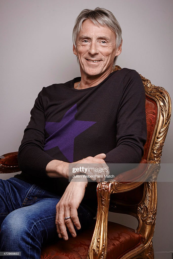 Singer and musician Paul Weller is photographed for Paris Match on February 13, 2015 in Paris, France.