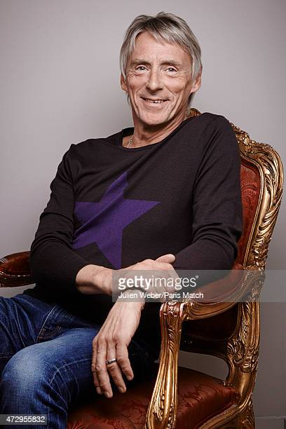 Singer and musician Paul Weller is photographed for Paris Match on February 13 2015 in Paris France