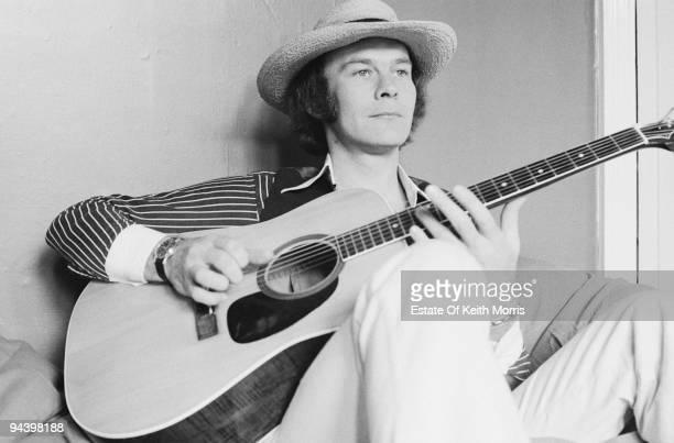 Singer and musician Rick Kemp of electric folk band Steeleye Span April 1977