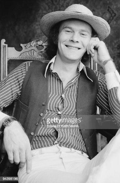 Singer and musician Rick Kemp of electric folk band Steeleye Span April 1977