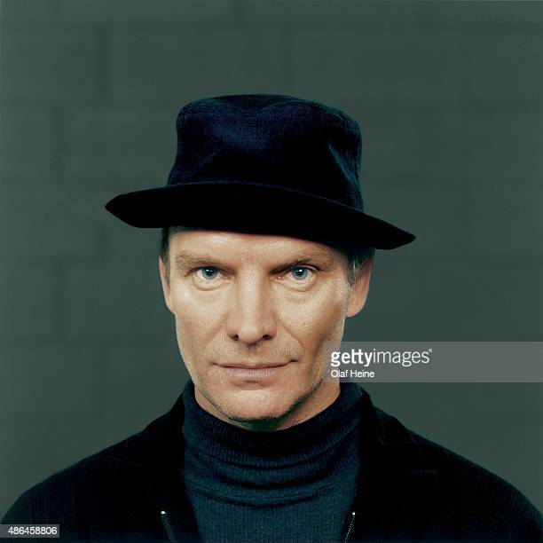 Singer and musician Sting is photographed on September 15 2000 in Paris France
