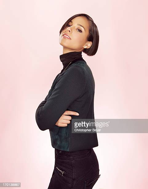 Singer and producer Alicia Keys is photographed at the Sundance Film Festival for Entertainment Weekly Magazine on January 19 2013 in Park City Utah