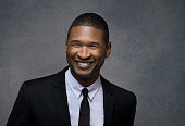 Singer and producer Usher poses for a portrait at the Sinatra 100 An AllStar GRAMMY Concert at Wynn Las Vegas on December 2 2015 in Las Vegas Nevada