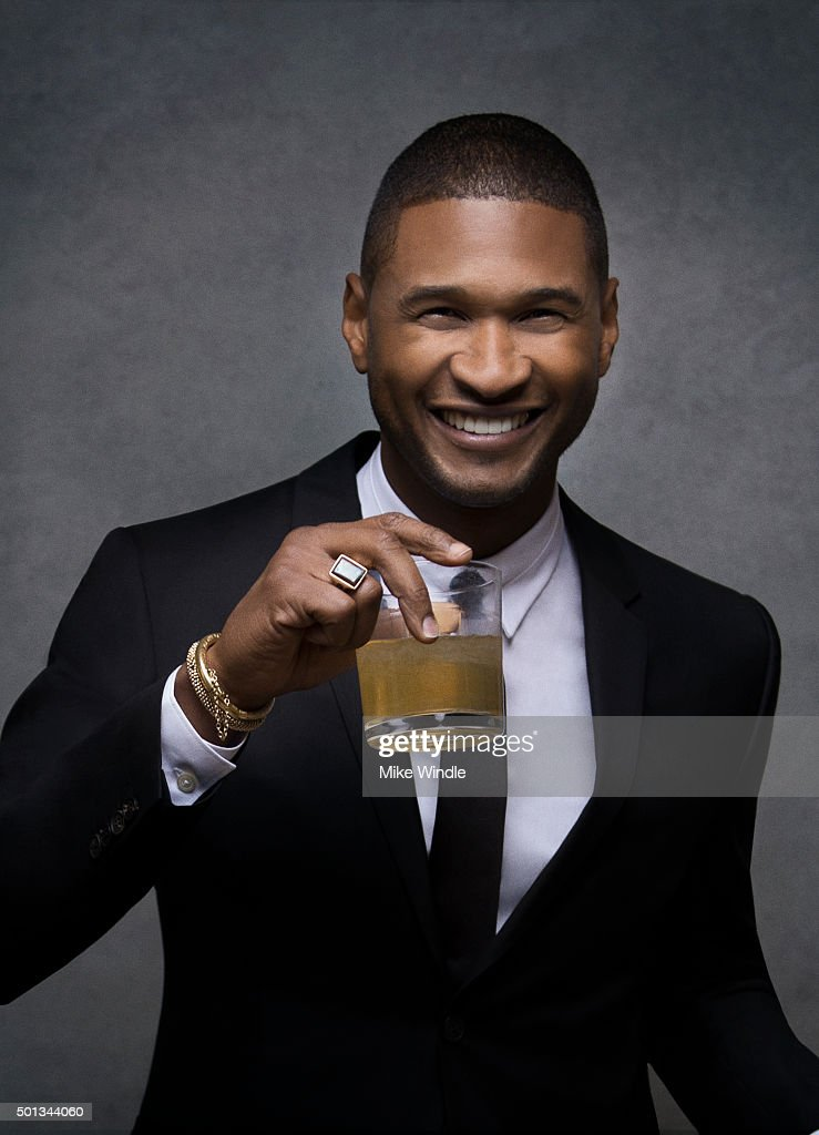 Singer and producer <a gi-track='captionPersonalityLinkClicked' href=/galleries/search?phrase=Usher+-+S%C3%A5ngare&family=editorial&specificpeople=201477 ng-click='$event.stopPropagation()'>Usher</a> poses for a portrait at the Sinatra 100: An All-Star GRAMMY Concert at Wynn Las Vegas on December 2, 2015 in Las Vegas, Nevada.