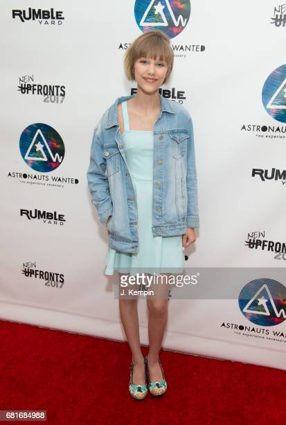 Singer and songwriter Grace VanderWaal attends the Astronauts Wanted And Rumble Yard Joint 2017 New Front Presentation at Sony Music Headquarters on...