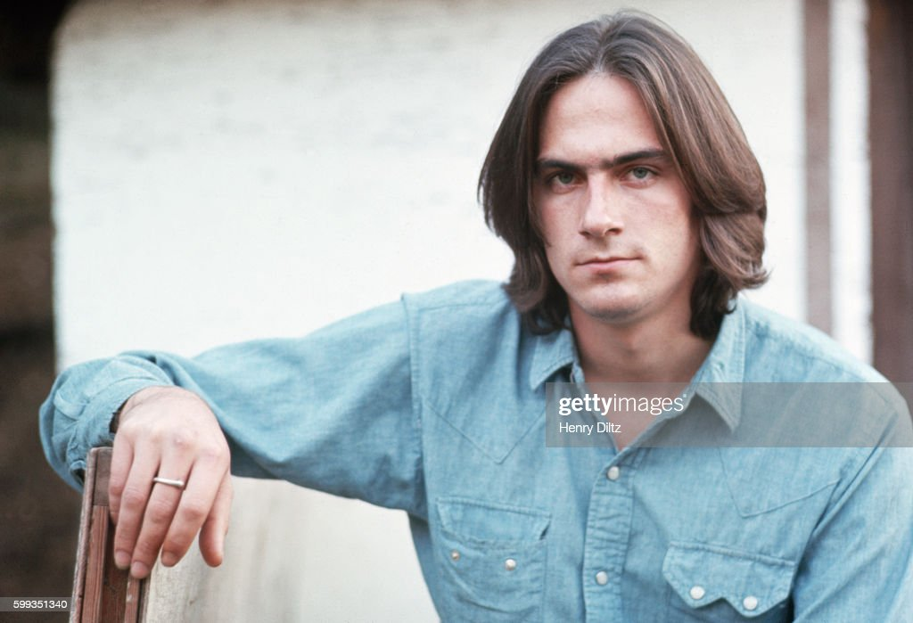 Singer and songwriter James Taylor.
