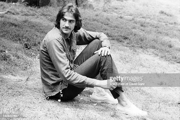Singer and songwriter James Taylor poses for a portrait on June 10 1970 in New York City New York