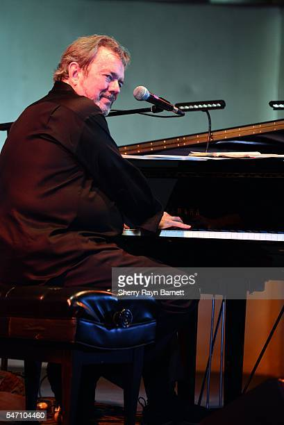 Singer and songwriter Jimmy Webb performs at The Levitt Pavillion in Macarthur Park on July 9 2016 in Los Angeles California