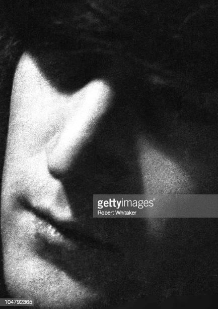 Singer and songwriter John Lennon of The Beatles 1966