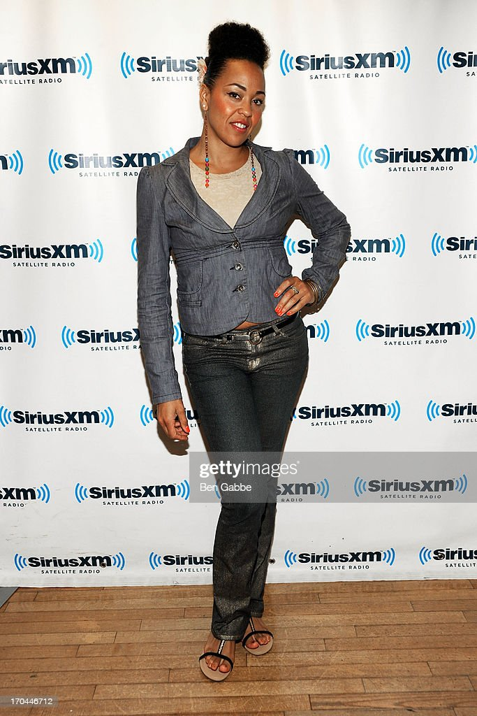 Singer and songwriter Maya Azucena visits the SiriusXM Studios on June 13, 2013 in New York City.