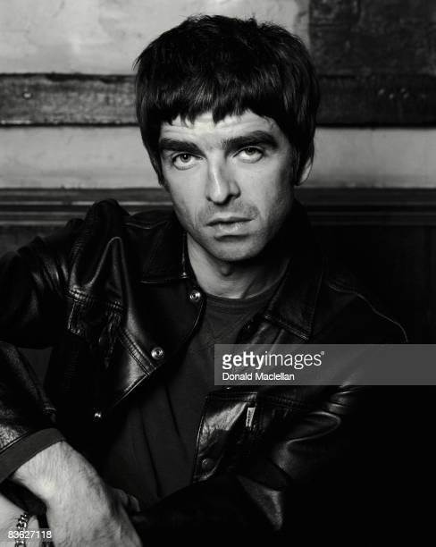Singer and songwriter Noel Gallagher of British rock band Oasis London 4th April 2002