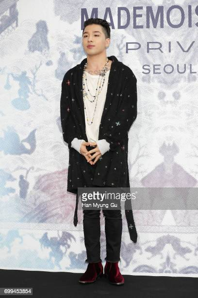 Singer and songwriter Taeyang of Big Bang attends the 'Mademoiselle Prive' exhibition at the DMuseum on June 21 2017 in Seoul South Korea
