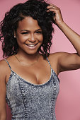 Singer and television host Christina Milian is photographed at the 2016 BeautyCon Conference on July 9 2016 in Los Angeles California