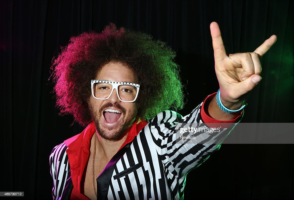 Singer and television personality Redfoo poses during a photo shoot in Sydney, New South Wales to promote his upcoming single 'Juicy Wiggle'.