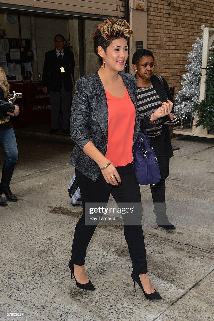 Celebrity Sightings In New York City - December 19, 2013 ...