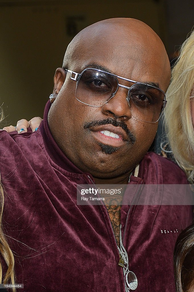 Singer and TV personality Cee Lo Green leaves the 'Today Show' taping at the NBC Rockefeller Center Studios on October 18, 2012 in New York City.