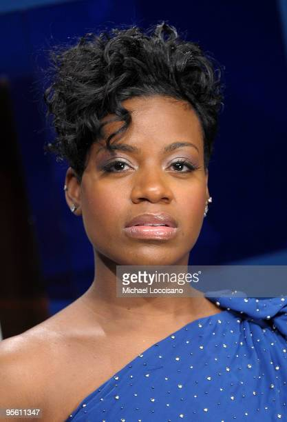 Singer and TV personality Fantasia Barrino visits BET's 106 Park at BET Studios on January 6 2010 in New York City