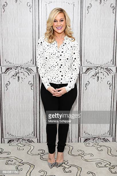 Singer and TV personality Kellie Pickler attends AOL Build Presents Kellie Pickler and Kyle Jacobs discuss 'I Love Kellie Pickler' at AOL HQ on...