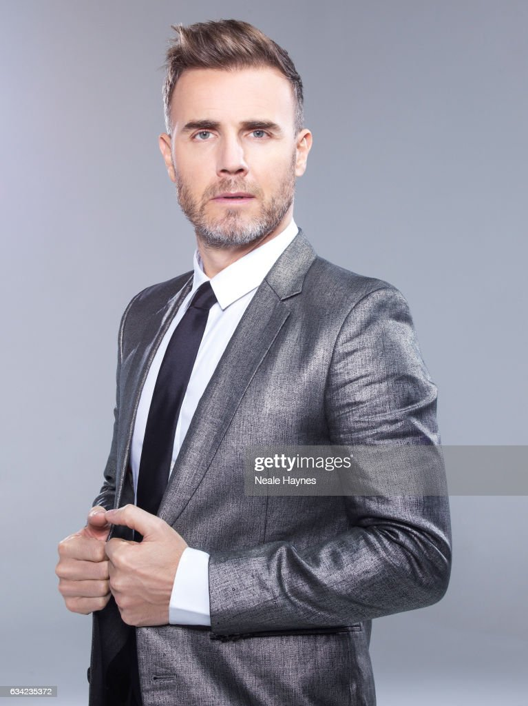 Singer and tv presenter Gary Barlow is photographed for the Daily Mail on December 12, 2016 in London, England.