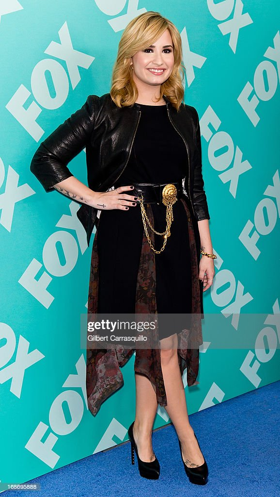 Singer and X Factor judge Demi Lovato attends the FOX 2103 Programming Presentation Post-Party at Wollman Rink - Central Park on May 13, 2013 in New York City.