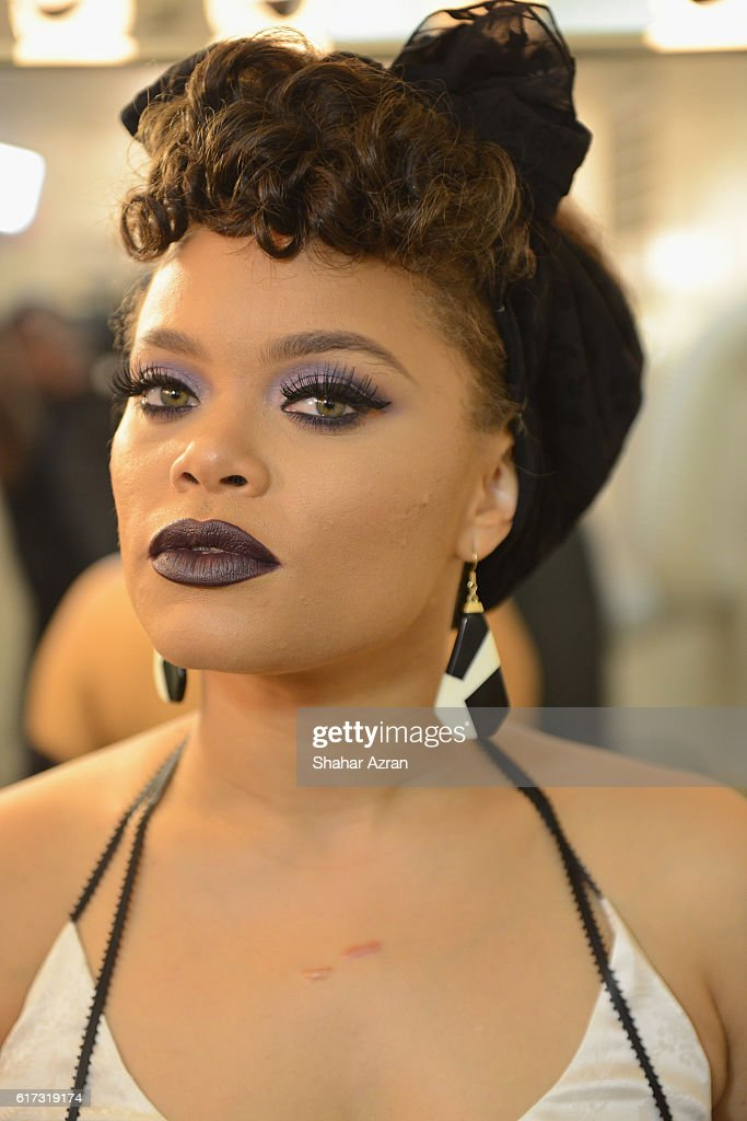 Singer Andra Day at The Apollo Theater on October 22, 2016 in New York City.
