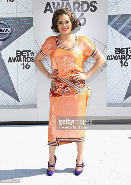 Singer Andra Day attends the 2016 BET Awards at the Microsoft Theater on June 26 2016 in Los Angeles California