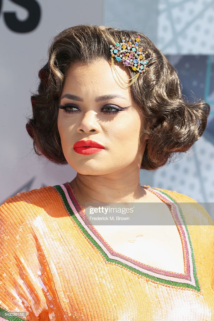 Singer <a gi-track='captionPersonalityLinkClicked' href=/galleries/search?phrase=Andra+Day&family=editorial&specificpeople=10196811 ng-click='$event.stopPropagation()'>Andra Day</a> attends the 2016 BET Awards at the Microsoft Theater on June 26, 2016 in Los Angeles, California.