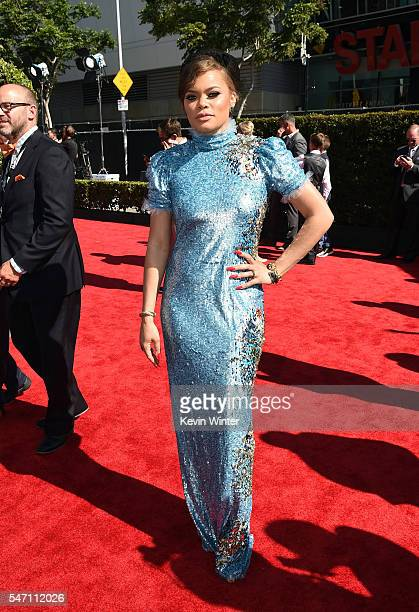 Singer Andra Day attends the 2016 ESPYS at Microsoft Theater on July 13 2016 in Los Angeles California