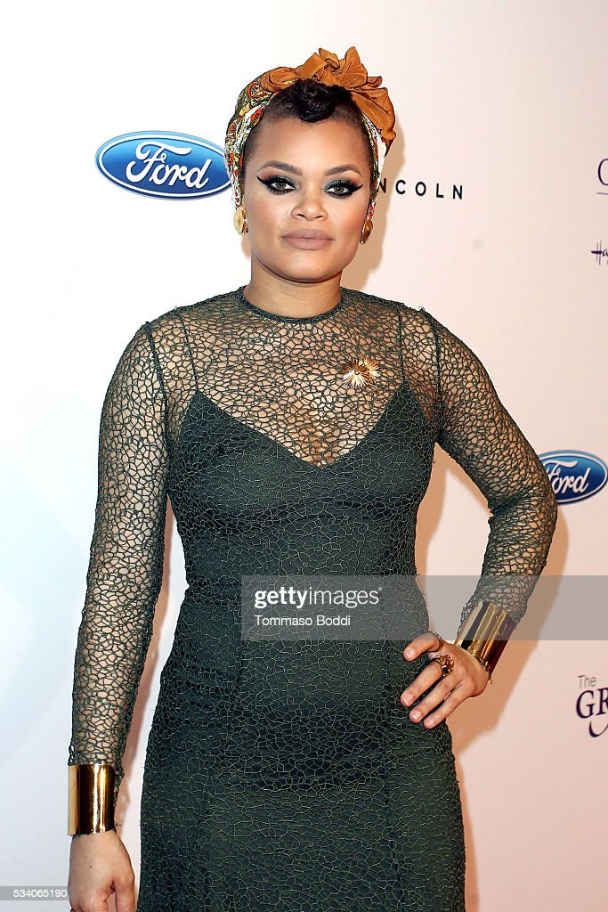 Singer <a gi-track='captionPersonalityLinkClicked' href=/galleries/search?phrase=Andra+Day&family=editorial&specificpeople=10196811 ng-click='$event.stopPropagation()'>Andra Day</a> attends the 41st Annual Gracie Awards at Regent Beverly Wilshire Hotel on May 24, 2016 in Beverly Hills, California.