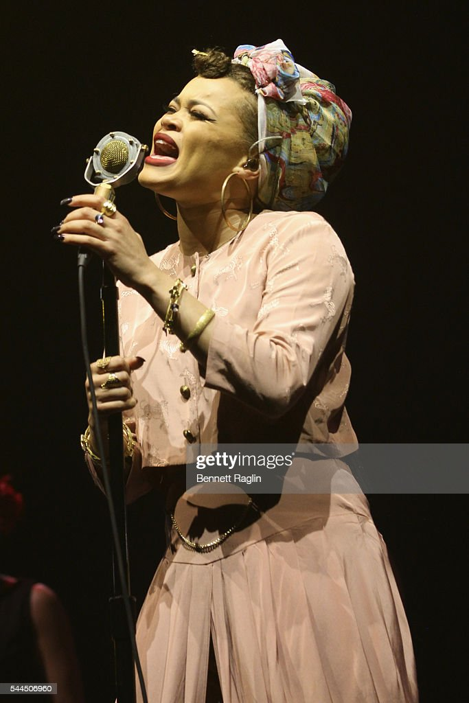 Singer Andra Day performs onstage at 2016 ESSENCE Festival Presented by Coca Cola at the Louisiana Superdome on July 3, 2016 in New Orleans, Louisiana.