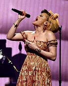 Singer Andra Day performs onstage at Keep Memory Alive's 20th Annual Power Of Love Gala at the MGM Grand Garden Arena on May 21 2016 in Las Vegas City